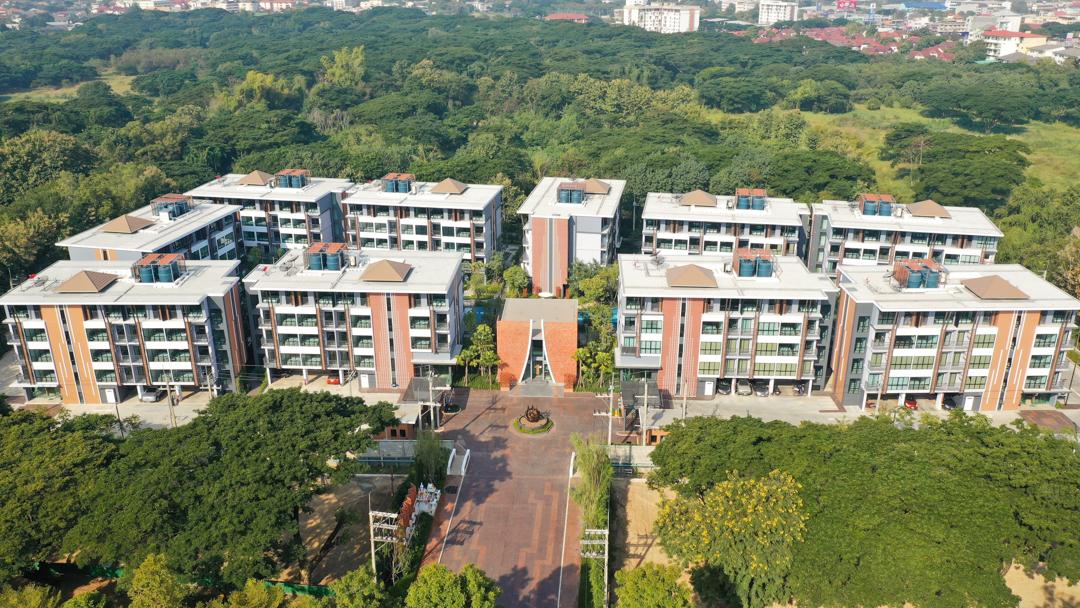 งานก่อสร้าง Arise Condominium @ Mahidol  Phase1,2